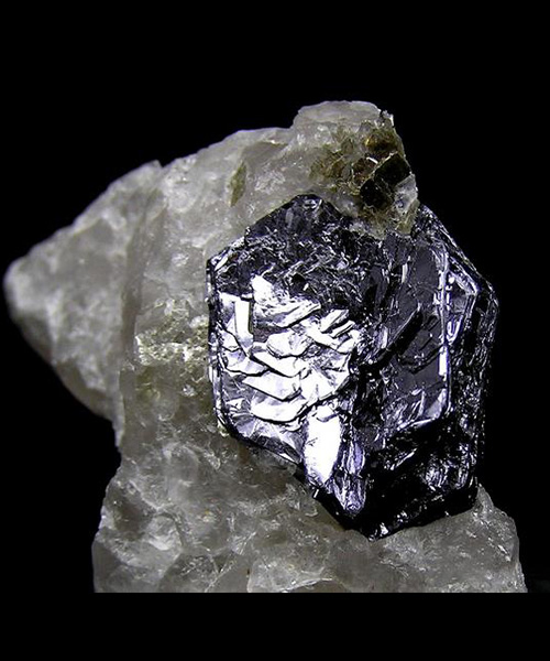 MOLYBDENITE, QUARTZO
